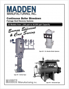 4 Continuous Blowdown Package Heat Recovery Systems Brochure